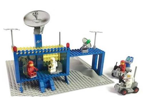 Rare Lego space station