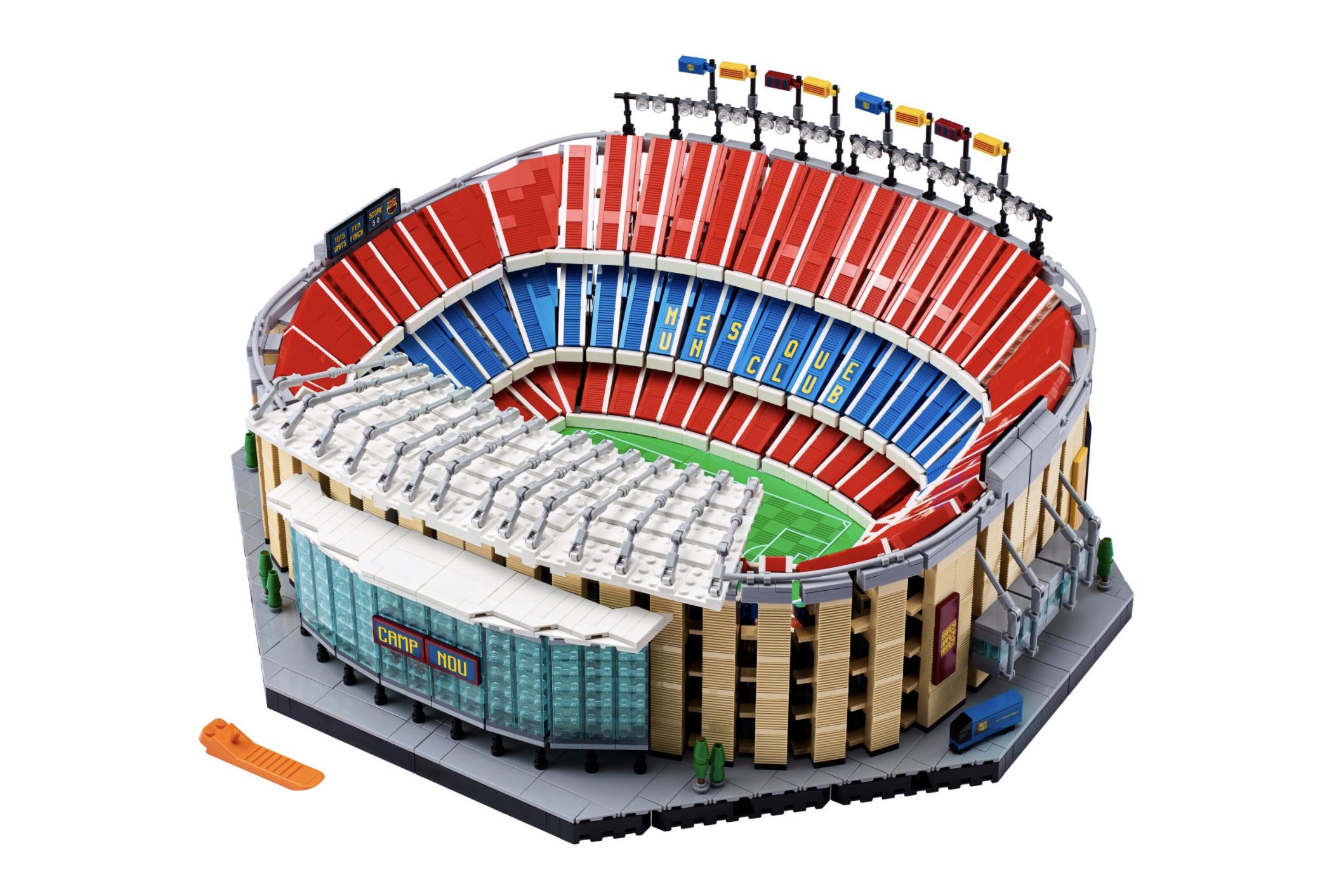 Lego football stadium