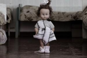 mystery cursing doll