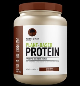 Nature's Best by Isopure Plant-Based Protein