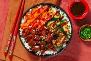 pork and veggie bibimbap, HelloFresh