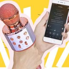 BlueFire Bluetooth Karaoke Wireless Microphone