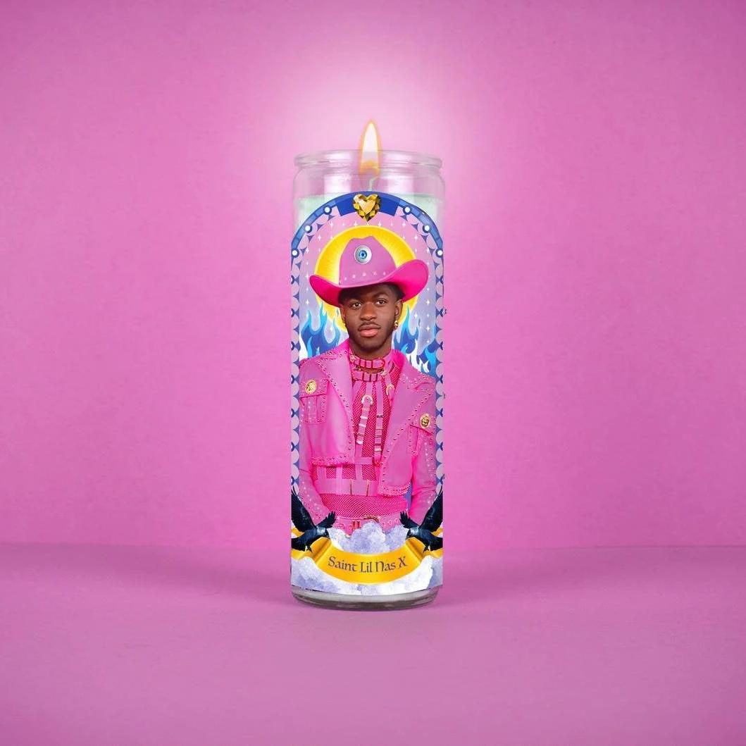 Saint Lil Nas X: Celebrity Prayer Candle