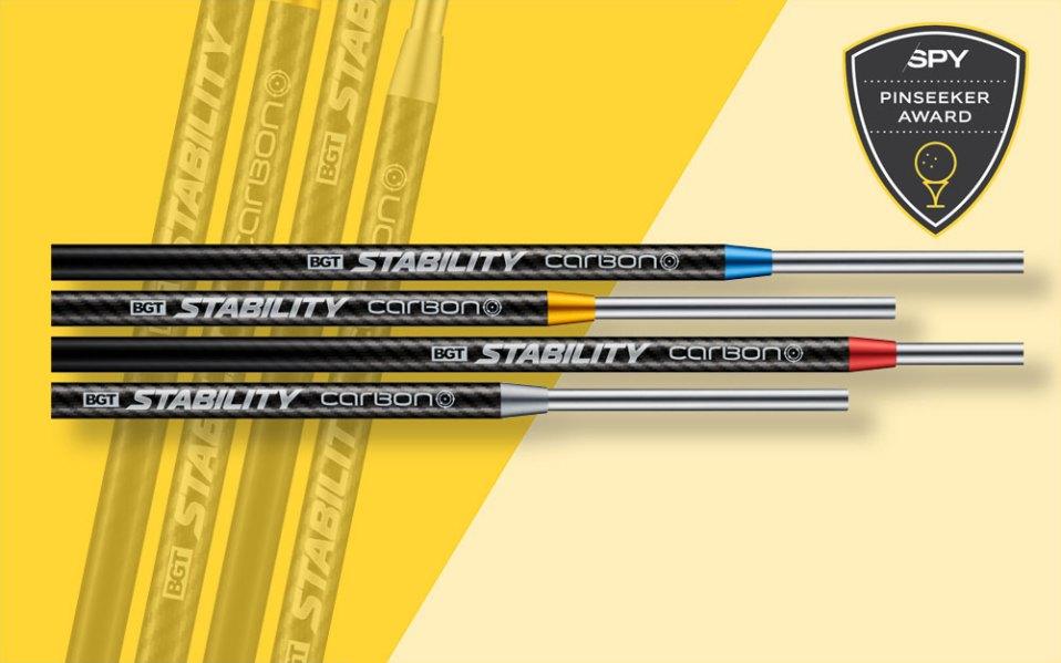 breakthrough golf technology stability carbon putter