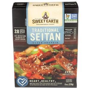 sweet earth seitan, meat alternatives