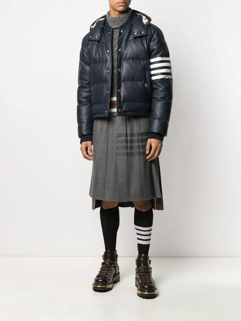 thom brown knee length skirt