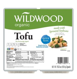 wildwood organic tofu, meat alternatives
