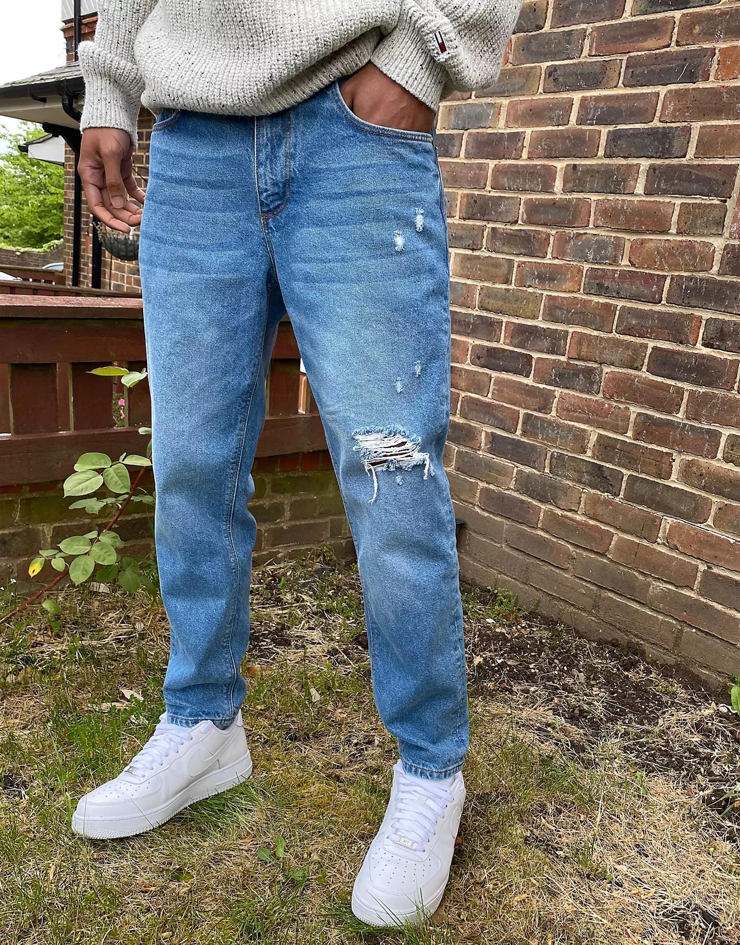 ASOS DESIGN Classic Rigid Jeans