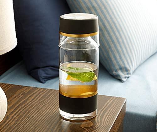 CEVVIZZ Bedside Water Carafe With Glass Set