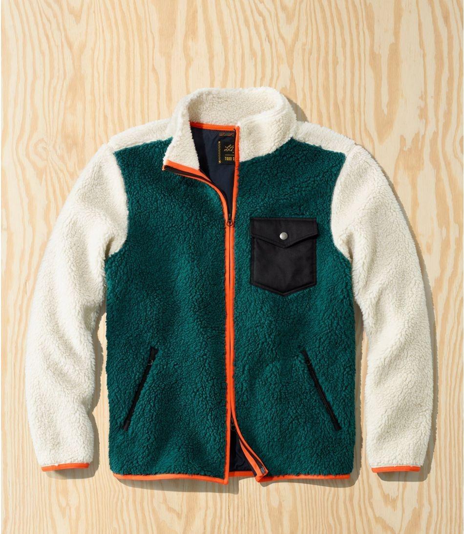 L.L.Bean x Todd Snyder Hi-Pile Sherpa Shirt Jacket