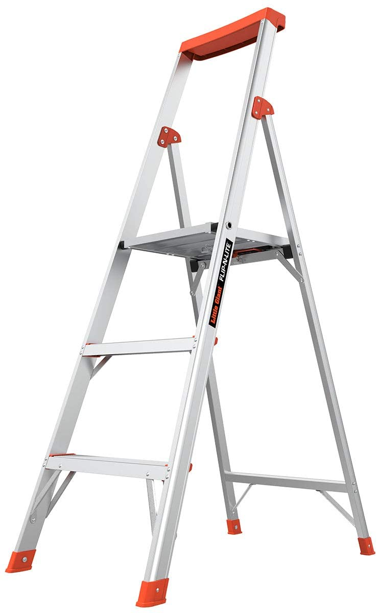 Little Giant Ladder Flip-N-Lite 5-Foot Stepladder