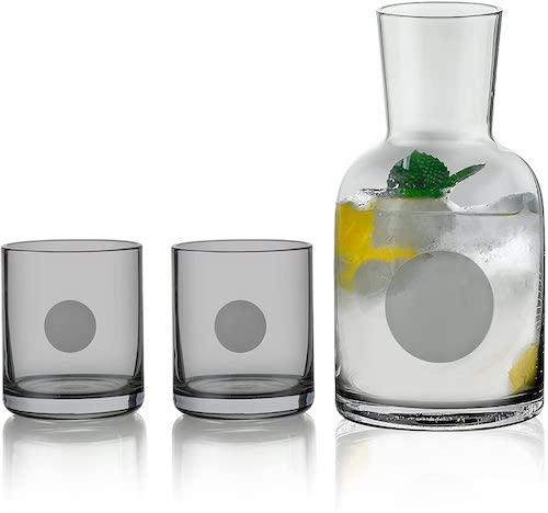 Sattyge Bedsite Water Carafe and Glass Set