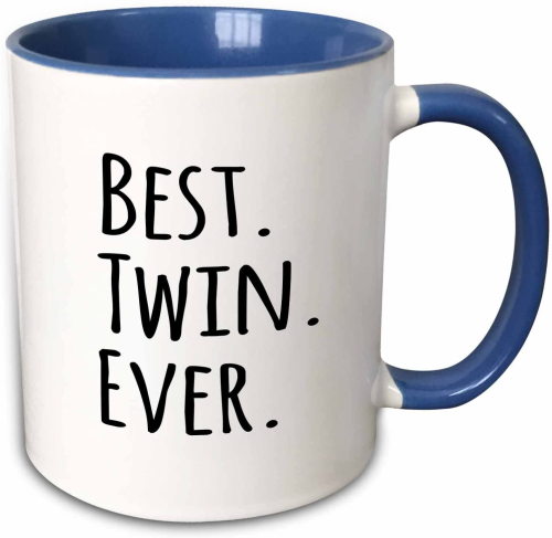 best twin ever mug
