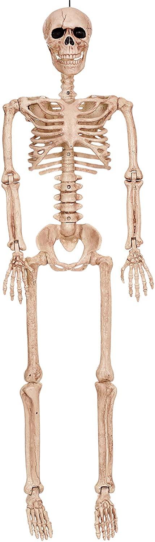 "Crazy Bonez 36"" Posable Skeleton Decoration"