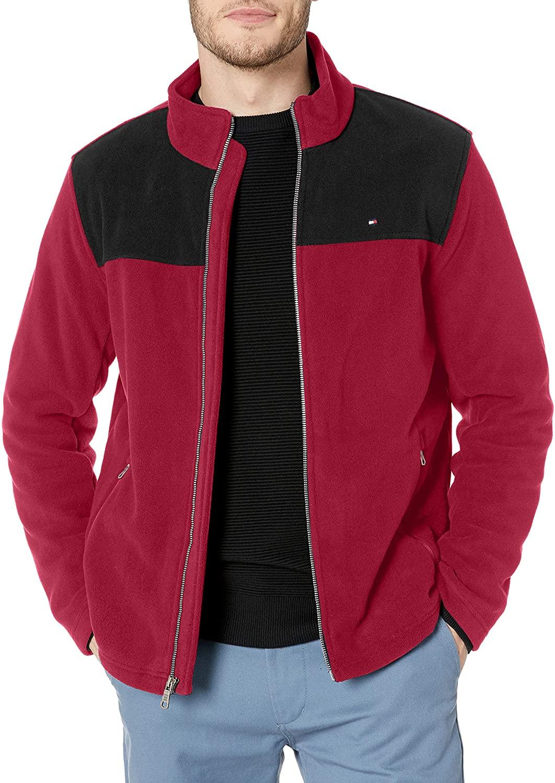 Tommy Hilfiger Classic Zip Front Polar Fleece Jacket