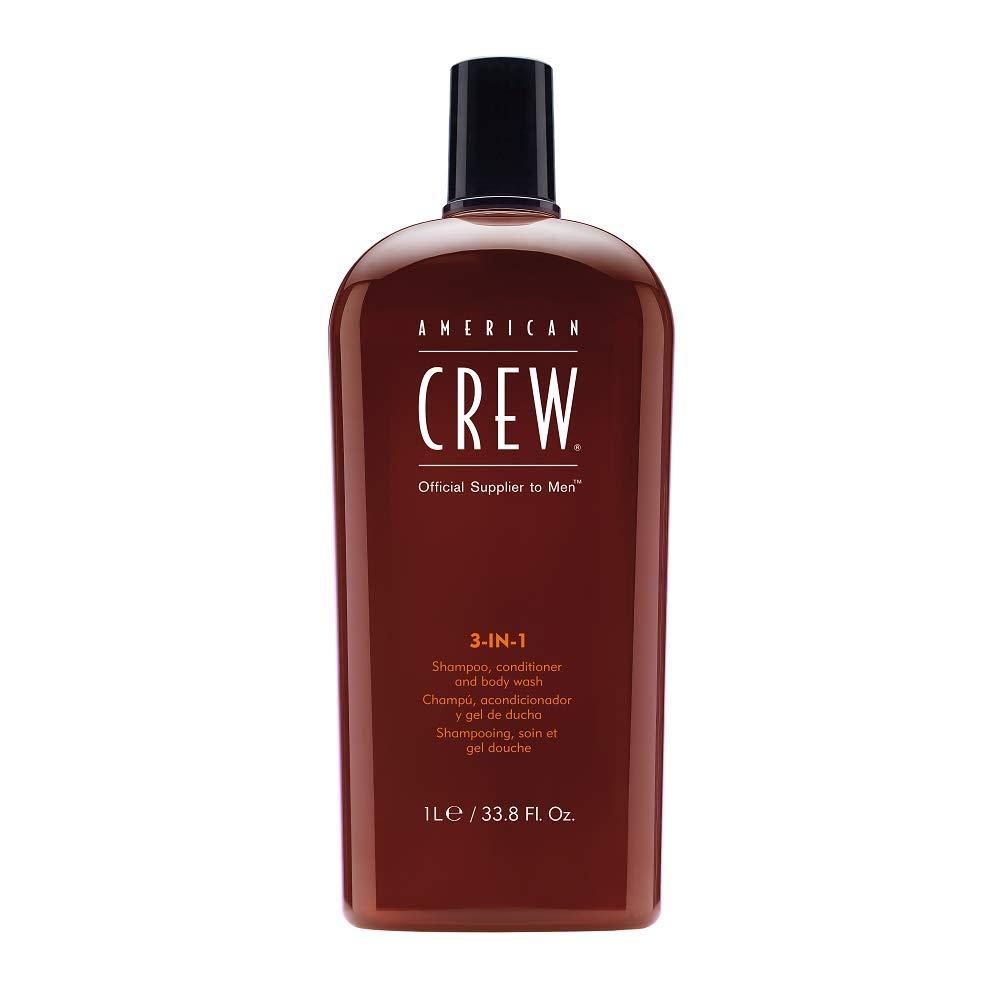 American Crew 3 in 1 Shampoo, Conditioner and Body Wash