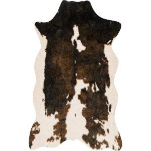 allmodern faux cowhide rug