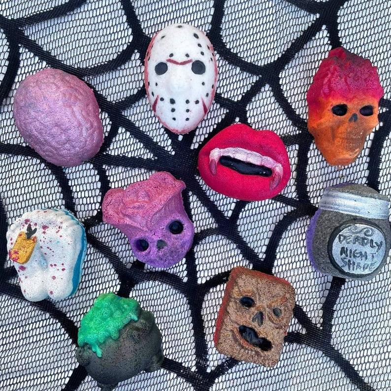 Alluring Elixirs 13 Days of Halloween Countdown Bath Bomb Calendar