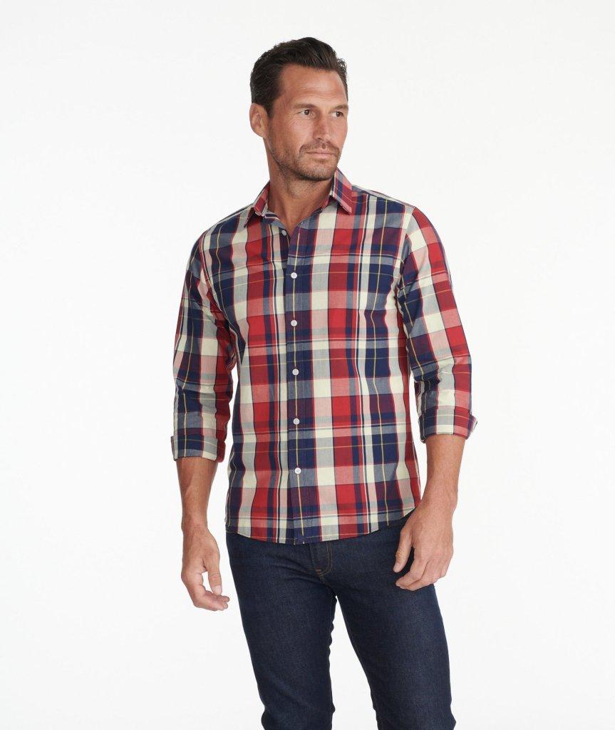 UNTUCKit Brandford Vintage Wash Shirt BEST PLAID