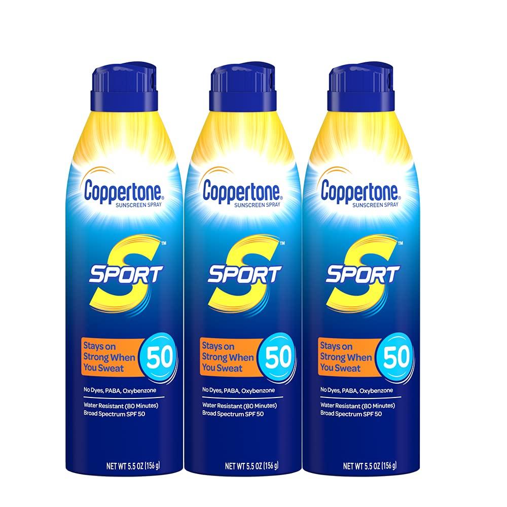 Coppertone Sport Continous Sunscreen Spray; best spray susncreen