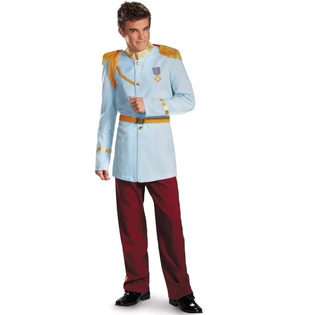 Disney Princess Prince Charming Prestige Adult Costume