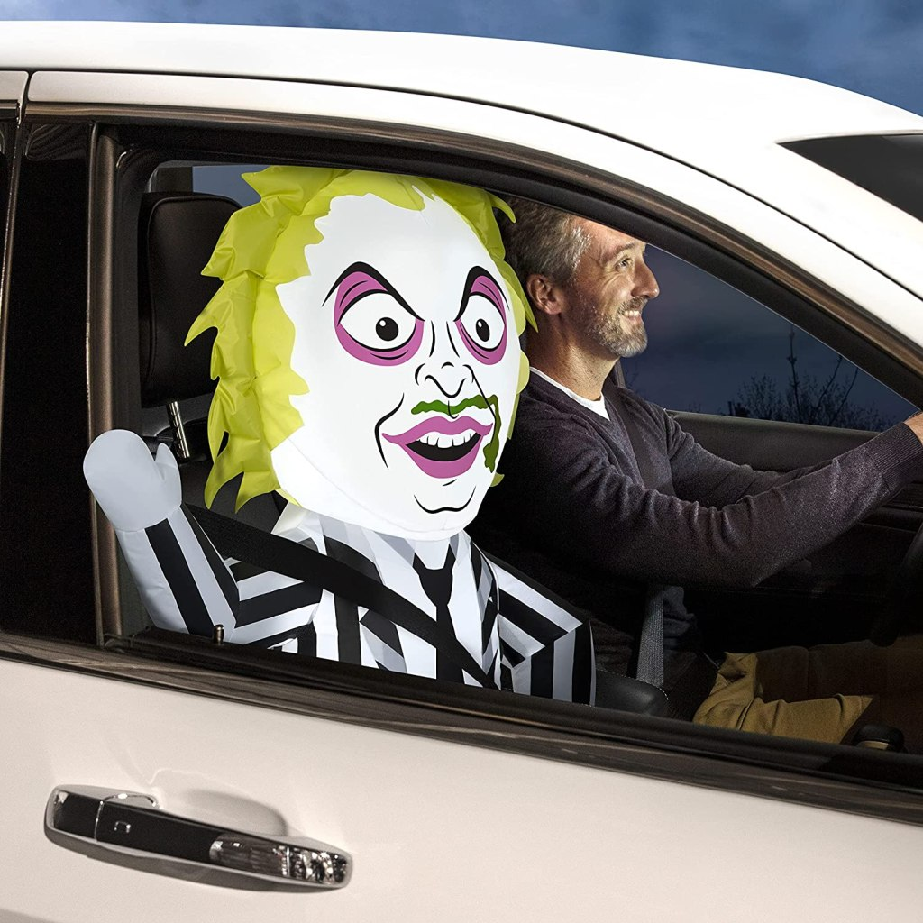 Gemmy Halloween 3FT CAR Buddy Beetlejuice AIRBLOWN Inflatable