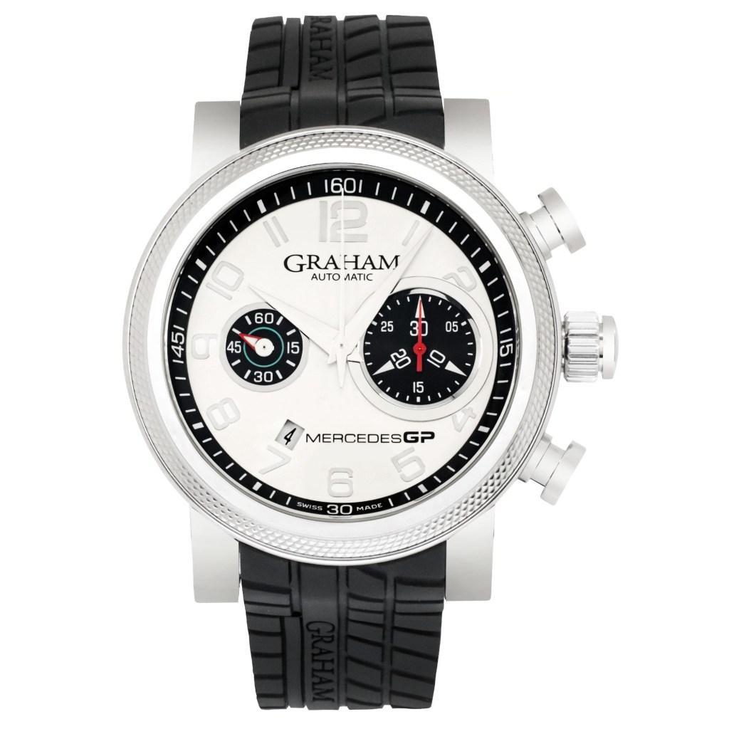 Graham-Mercedes-GP-Petronas-Chronograph-Automatic-Mens-Watch-2MEAS.S01A-Rubber