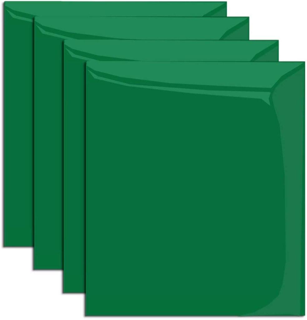 Green Heat Transfer Vinyl for T-Shirts