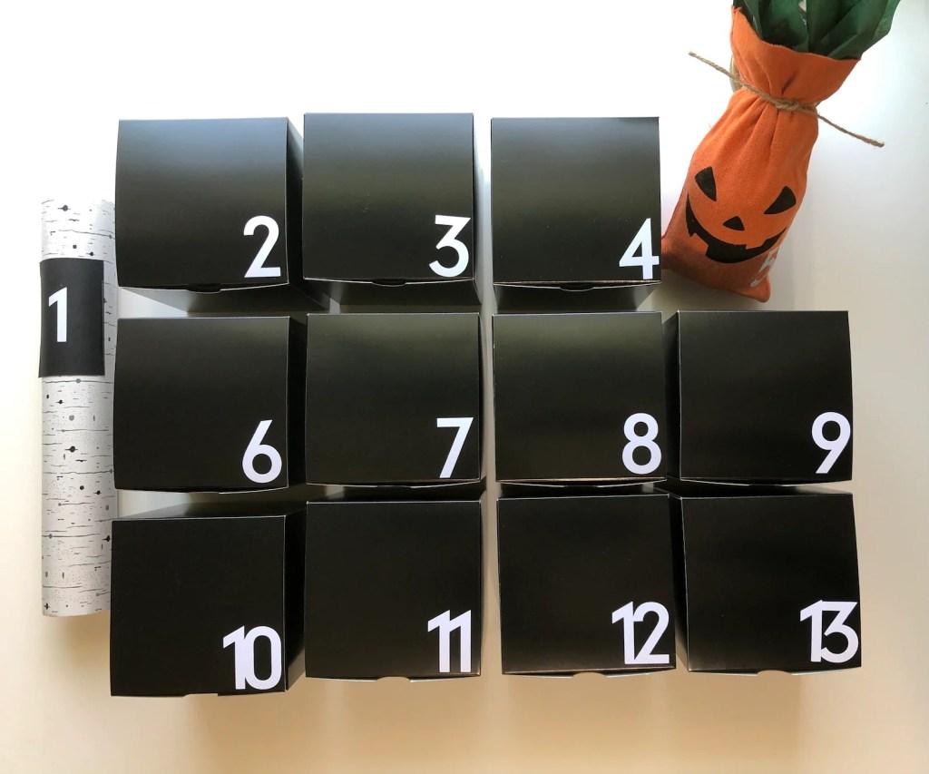 13 Days of Hallow-Green Advent Calendar