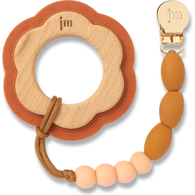 Honey Teether and Clip Set by January Moon