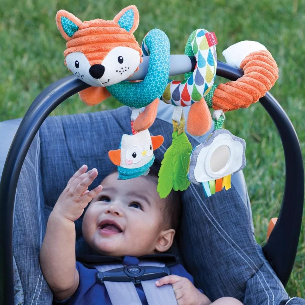 Infantino Go gaga! Spiral Car Seat Activity Toy