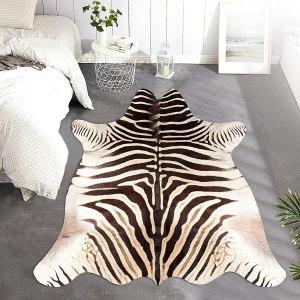 jinchan zebra print area rug