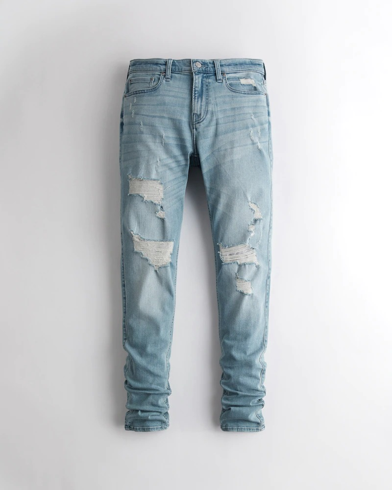 Hollister Stacked Taper Jeans
