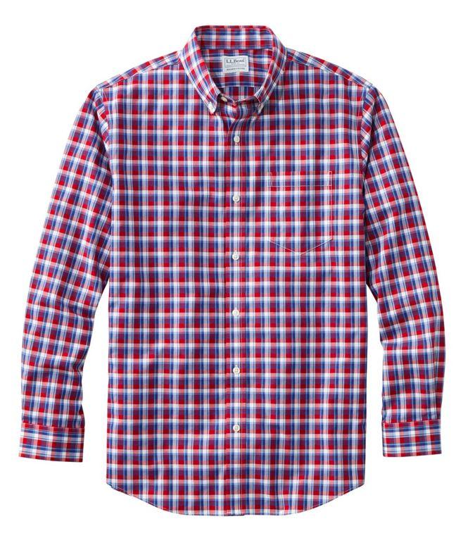L.L.Bean Kennebunk Sport Shirt BEST WRINKLE-FREE
