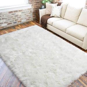 faux animal rugs lochas sheepskin