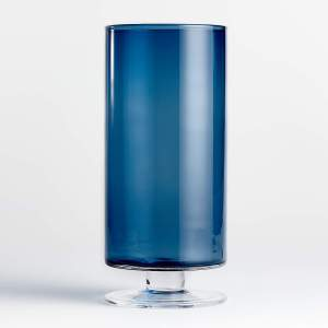 best candle holders london narrow short blue