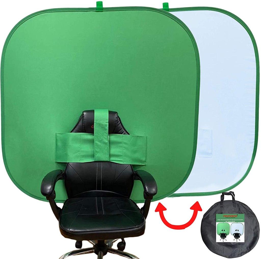 NOVARENA Green Screen Chair Backdrop