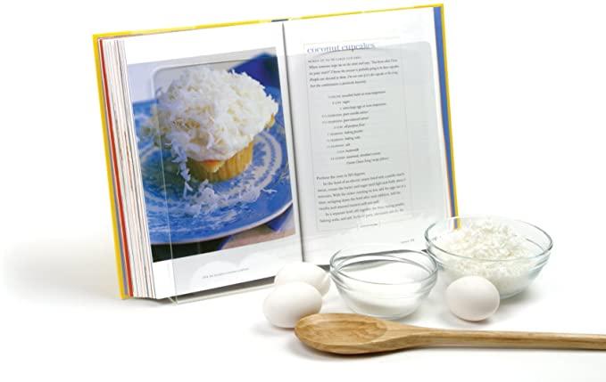 cookbook stands norpro acrylic cookbook tablet holder