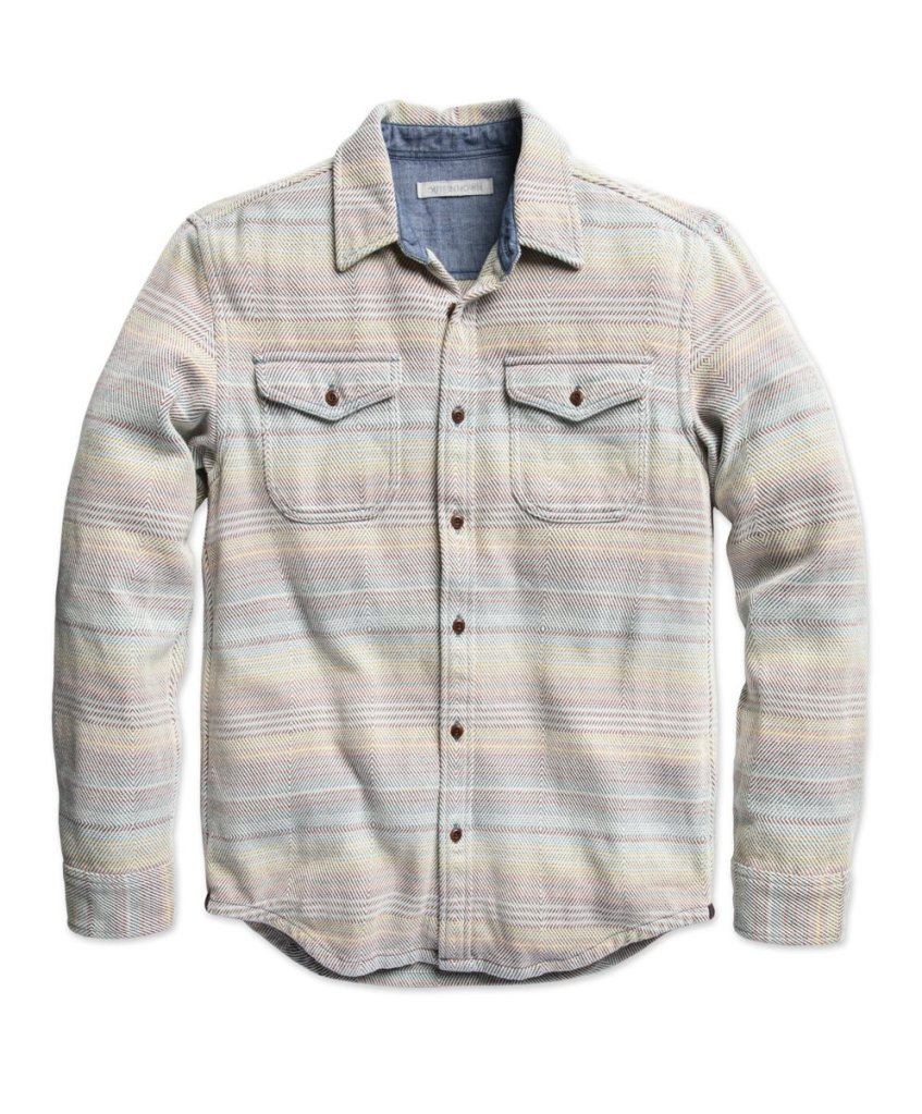 Outerknown Blanket Shirt BEST OVERALL, Best Casual Shirts for Men