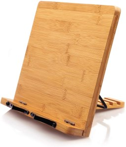 cookbook stands pipishell bamboo