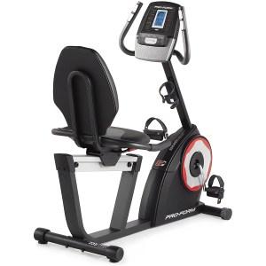 ProForm 235 CSX recumbent bike, exercise bikes for seniors