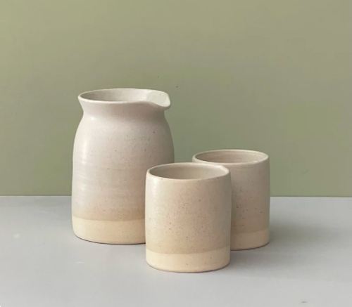 Real Pottery Small Carafe