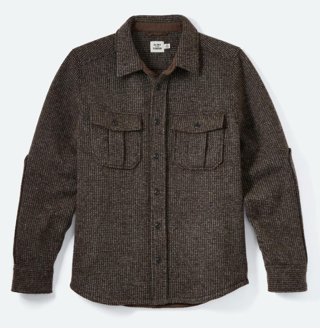 Flint and Tinder Wool Overshirt