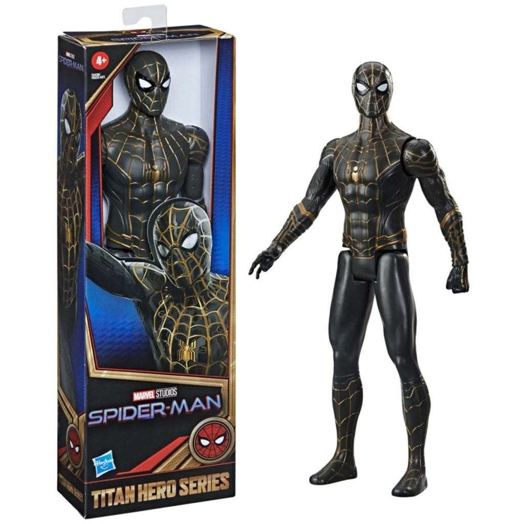 Spider-Man Titan Hero Series Black and Gold Suit