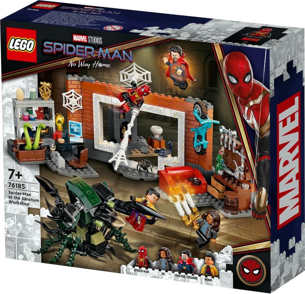 Spider-Man at the Sanctum Workshop LEGO Set