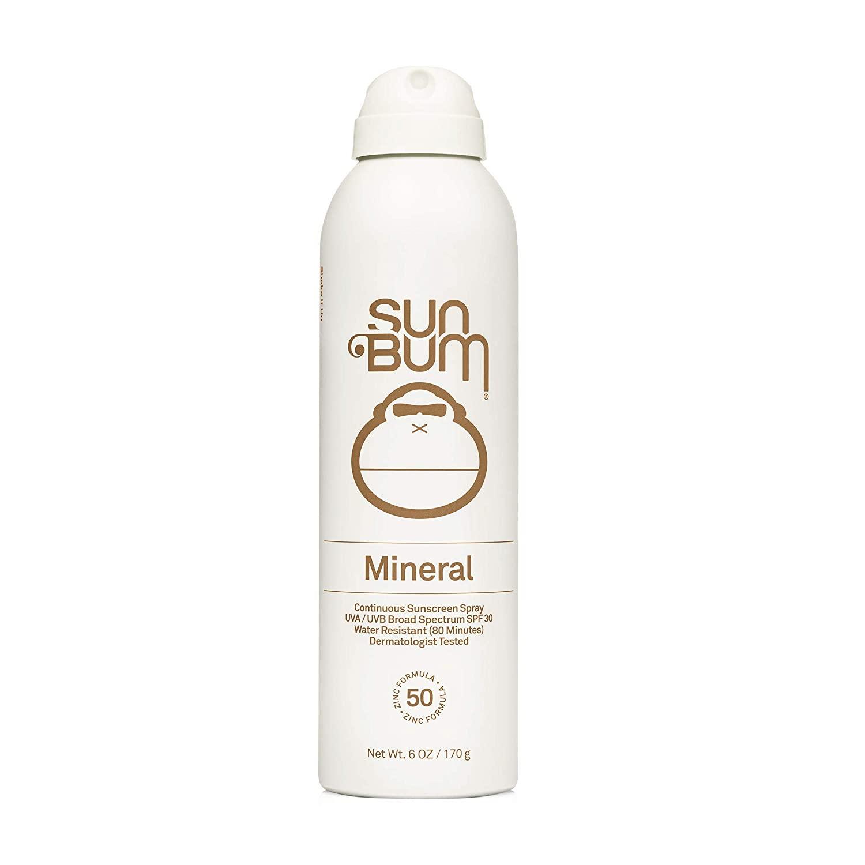 Sun Bum Mineral SPF 50 Sunscreen Spray; best spray susncreen