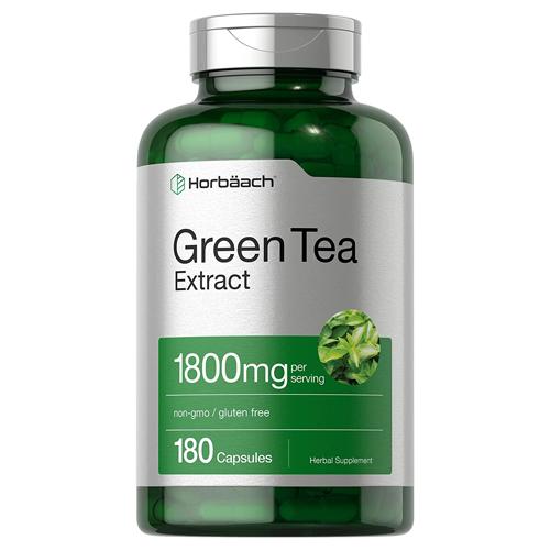 Horbäach EGCG Green Tea Extract Pills