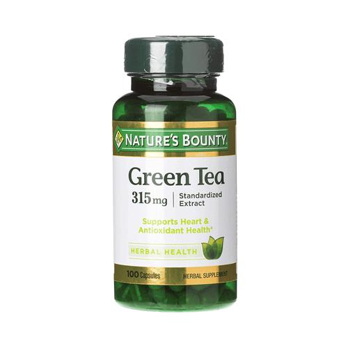 nature's bounty green tea