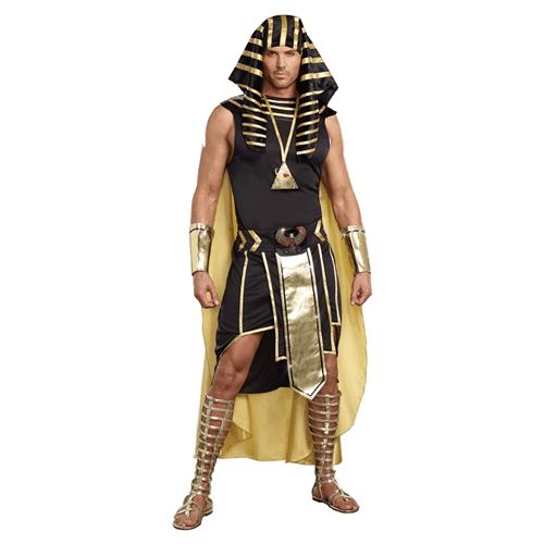 Dreamgirl Mens King of Egypt King Tut, best last-minute halloween costumes