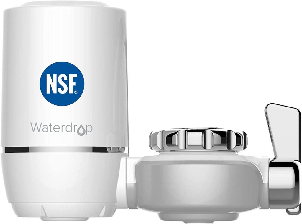 Waterdrop WD-FC-01 NSF Certified 320-Gallon Longer Filter Life Water Faucet Filter